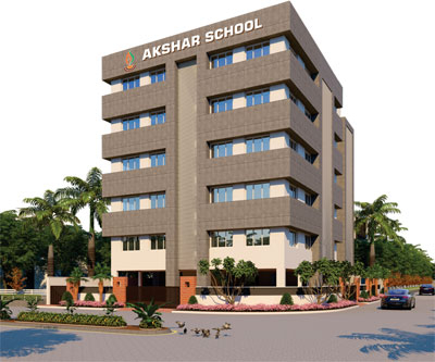 akshar-school-building